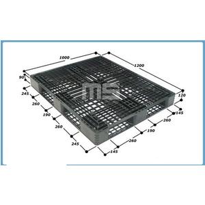 Pallet nhựa 1200*1000*120mm | Pallet kê hàng xuất khẩu