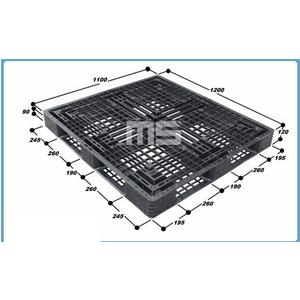 Pallet nhựa 1200*1100*120mm | pallet hàng nhập khẩu giá rẻ