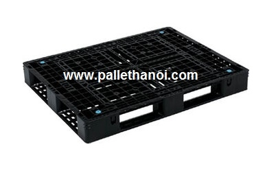 Pallet nhựa cũ KT: 1200x800x150 mm