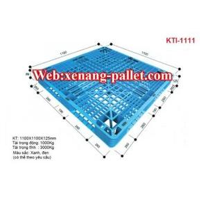 Pallet nhựa 1200 x 1000 x 125mm