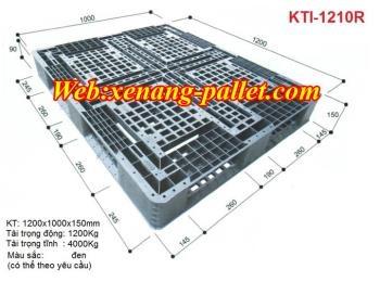 Pallet nhựa 1200 x 1000 x 150mm