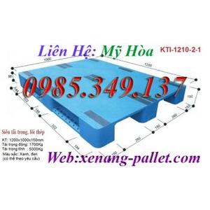 Pallet nhựa 1200 x 1000 x 150mm (KTI-1210-2-1)