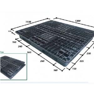 Pallet nhựa 1300*1100*130mm | Pallet nhập khẩu Malaysia