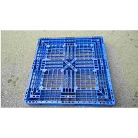 Pallet nhựa 1100x1100x150mm màu xanh dương
