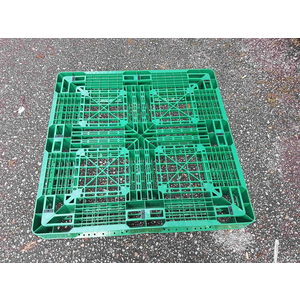 Pallet nhựa 1100x1100x130mm xanh