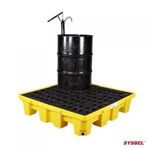 Pallet nhựa chứa phuy chống tràn dầu Poly, 4 drum, dung tích 68 Gallon/ 260 lít Model: SPP104