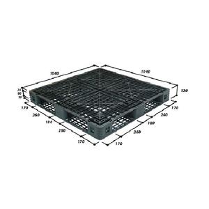 Pallet nhựa kê hàng 1040*1040*120mm