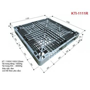 Pallet nhựa KTI-1111R Nhật