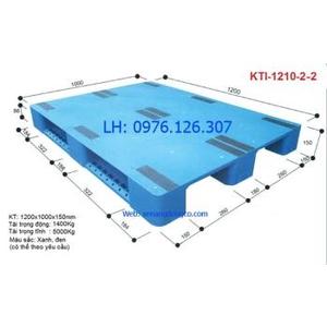Pallet nhựa KTI-1210-2-2