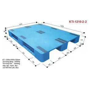 Pallet Nhựa KTI 1210-2-2
