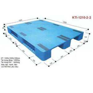 Pallet nhựa KTI-1210-2-2 Nhật