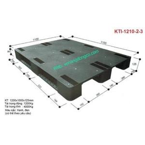 Pallet nhựa KTI-1210-2-3