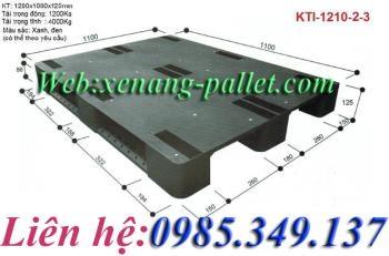 Pallet nhựa KTI-1210-2-3 giá rẻ