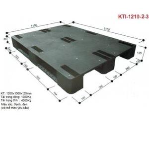 Pallet nhựa KTI-1210-2-3 Nhật