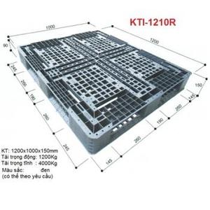 Pallet nhựa KTI-1210R Nhật