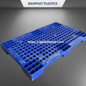 Pallet nhựa Lót sàn cũ KT 1000x600x100 mm