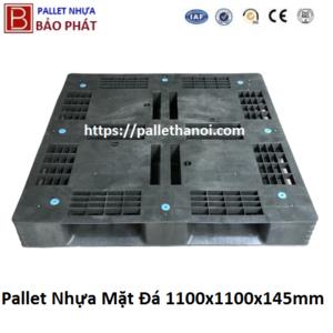 Pallet mặt đá cũ KT: 1100x1100x145 mm (Màu Xám)