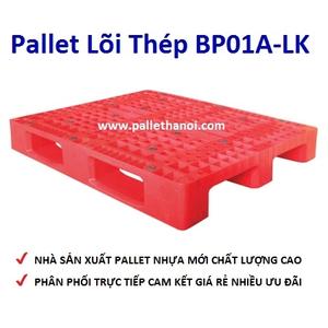 Pallet nhựa mới BP01A-LK (1000*1200*150 mm)