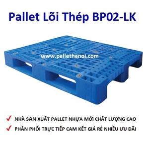 Pallet nhựa mới BP02A-LK (1000*1200*150 mm)