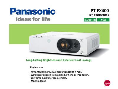 Máy chiếu Cũ Panasonic Độ Sáng 4000