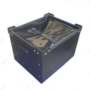 Thùng nhựa Danpla chống tĩnh điện có nắp KT : Sản xuất theo yêu cầu