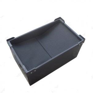 Thùng nhựa Danpla chống tĩnh điện nắp vải KT : Sản xuất theo yêu cầu
