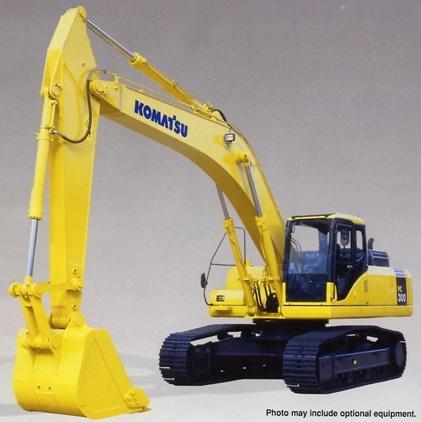 Máy xúc đào PC300-8