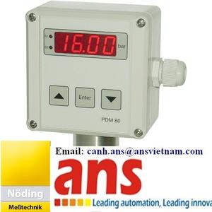 Noeding PTM 82, TM63, đồng hồ đo nhiệt kỹ thuật số Noeding