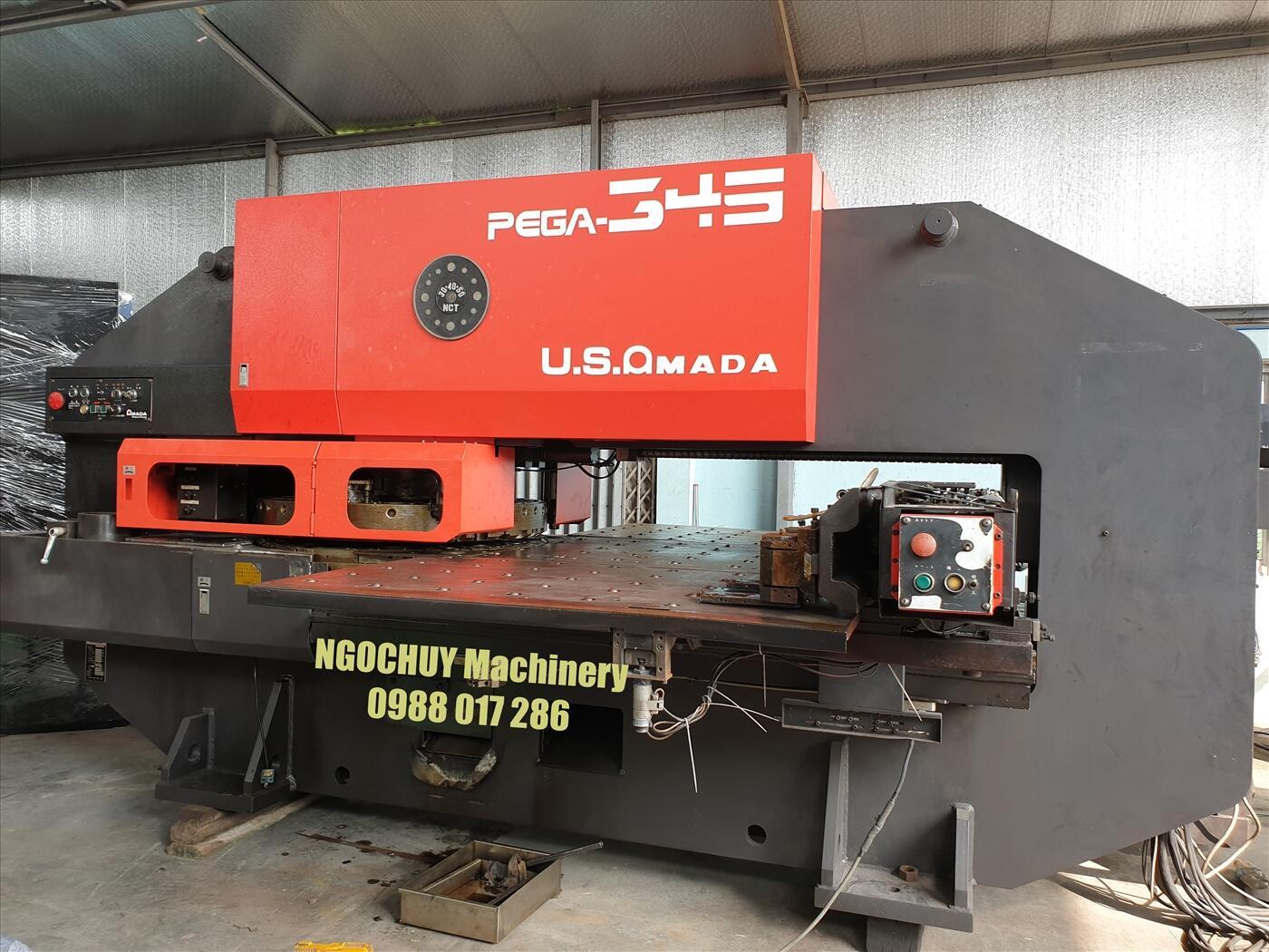 Máy đột dập CNC Amada Pega 345