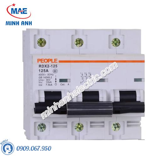 MCB dòng cắt 10000A - RDX2-125 3P C100 100A