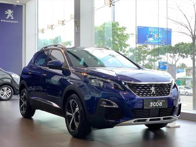 Peugeot 3008 Xanh Magnetic