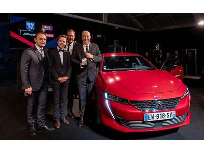 """Peugeot 508 thế hệ mới thắng giải """"Xe hơi đẹp nhất Thế giới năm 2018"""""""
