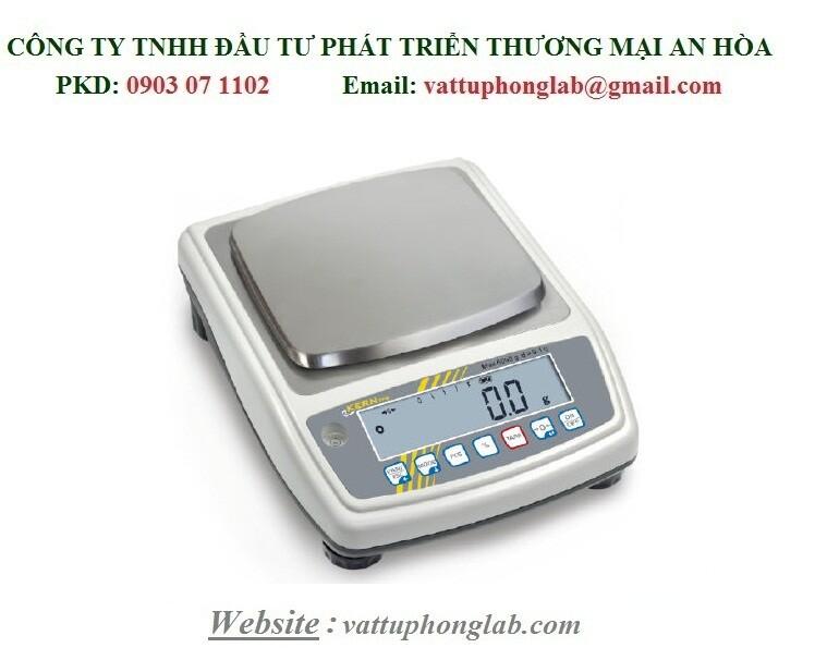 CÂN KỸ THUẬT ĐIỆN TỬ 6kg/0,1g MODEL:PFB 6000-1M