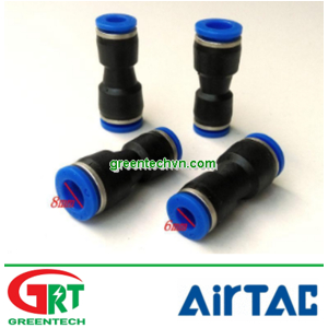 PG8-6 | Airtac PG8-6 | Ống nối thẳng | Pneumatic Air Fitting Change Diameter Connect| Airtac Vietnam