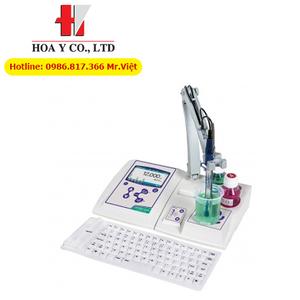 pH 80+ DHS - Máy đo pH để bàn có tích hợp máy khuấy từ