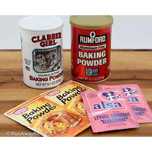 Phân biệt muối nở Baking Soda, bột nở Banking Powder và muối diêm Saltpeter
