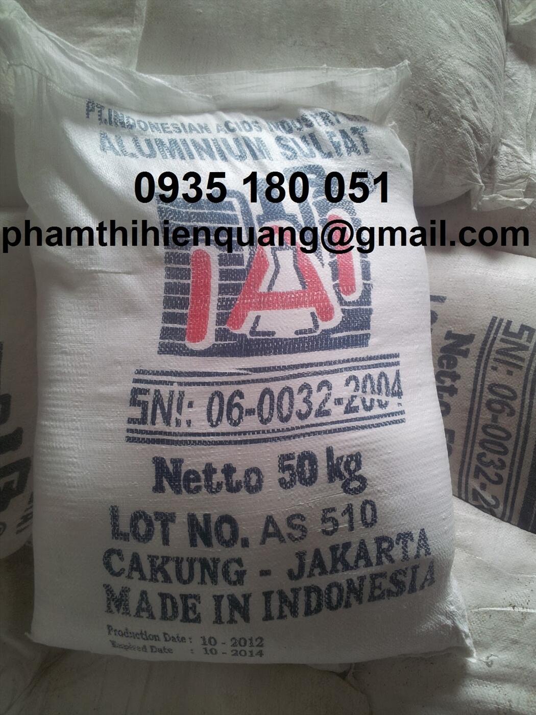Phèn nhôm - Aluminium sulphate 17%