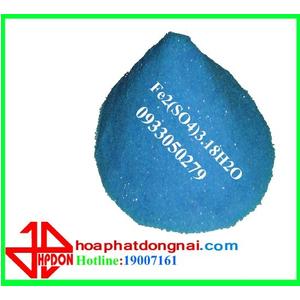 Phèn sắt Fe2(SO4)3.18H2O