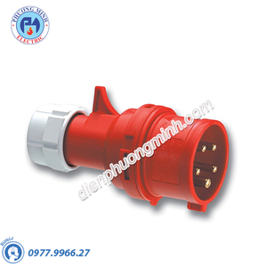 Phích di động 32A 4P 400V 6h IP67 có lỗ - Model F61242-6K