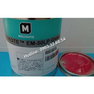 Phiên bản mỡ màu hồng Molykote EM-50LP hộp 1kg.