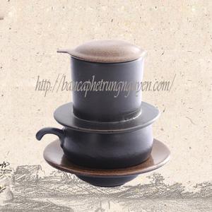 Phin gốm sứ Bát Tràng Coffee