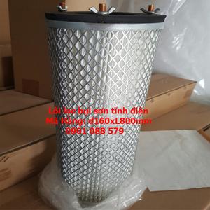 Phin lọc sơn tĩnh điện - Filter lọc sơn d160xL800mm