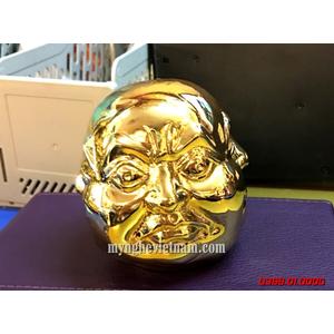 Phỗng 4 mặt cảm xúc mạ vàng làm quà tặng độc đáo