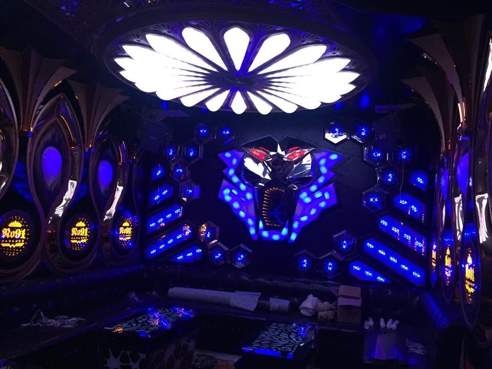 Thiết kế thi công phòng hát karaoke VIP Led Full tại Phú Thọ