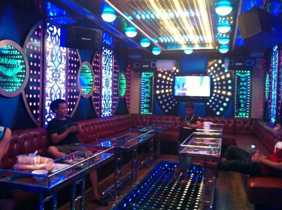 Thiết kế thi công phòng hát karaoke VIP Led Full tại Vĩnh Phúc