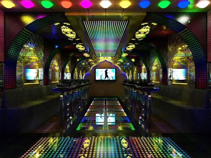 Thiết kế thi công phòng hát karaoke VIP Led Full tại Hài Dương