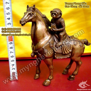 Phong hầu tượng, tượng khỉ cưỡi ngựa, mã thượng phong hầu