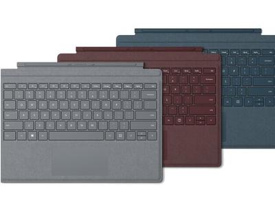 Bàn Phím cao cấp Microsoft Surface Pro Alcantara (Xanh, Đỏ, Xám, Ice blue)