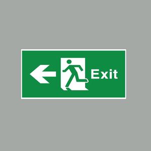 Phụ Kiện Đèn Báo Exit Đa Năng 1 Mặt Trái