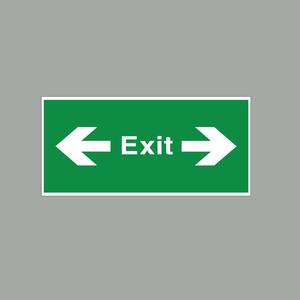 Phụ Kiện Đèn Báo Exit Đa Năng 1 Mặt Trái Phải